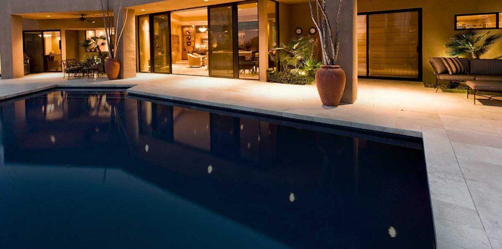 Custom backyard Concrete pool