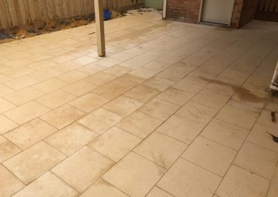 Outdoor Alfresco Area Paving